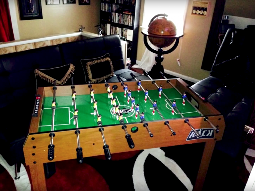 foosball table assembly service