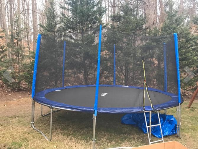 trampoline assembly service