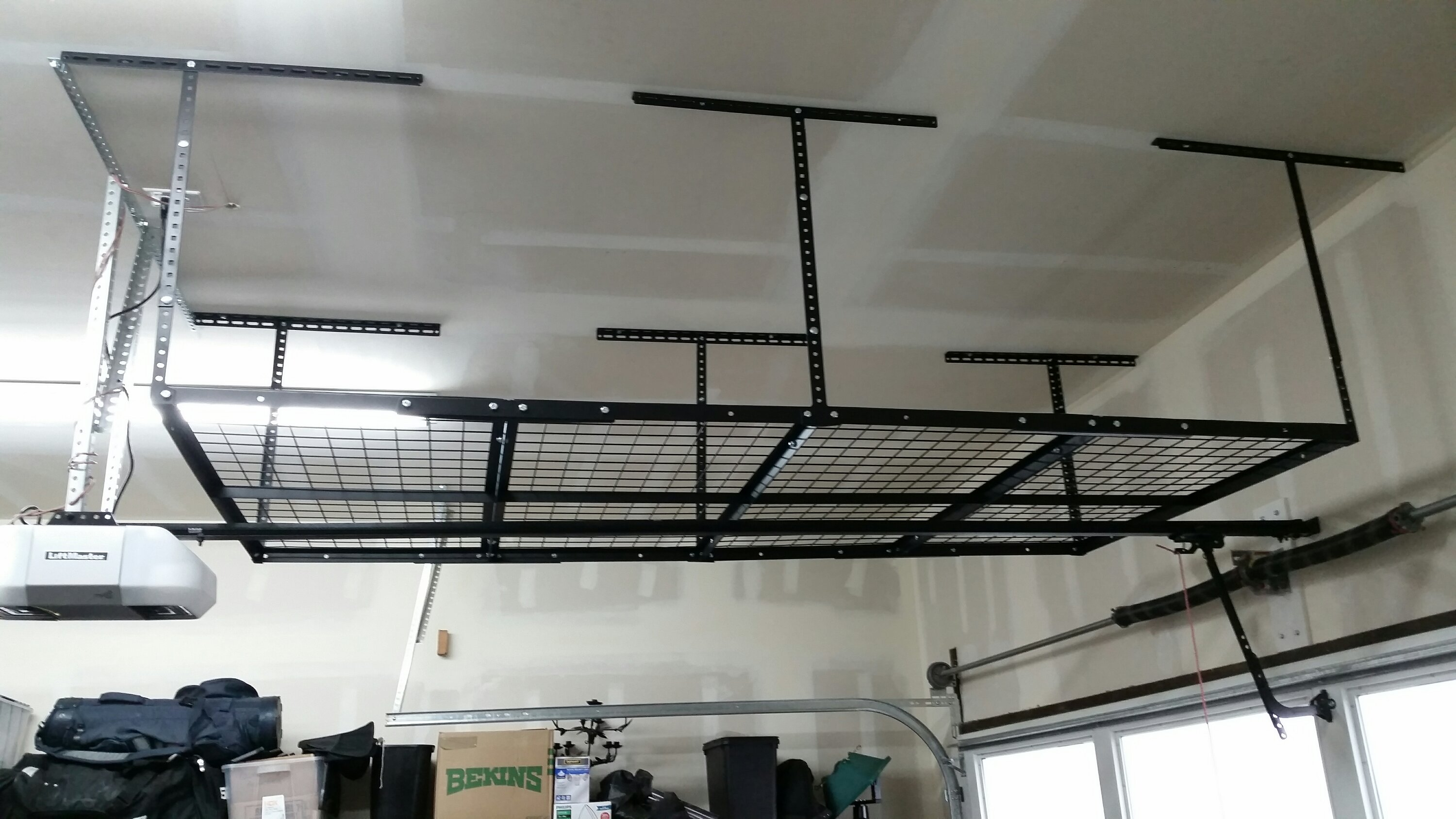 garage ceilings system units modular drawer storage systems full ceiling size racks large design cabinets best of