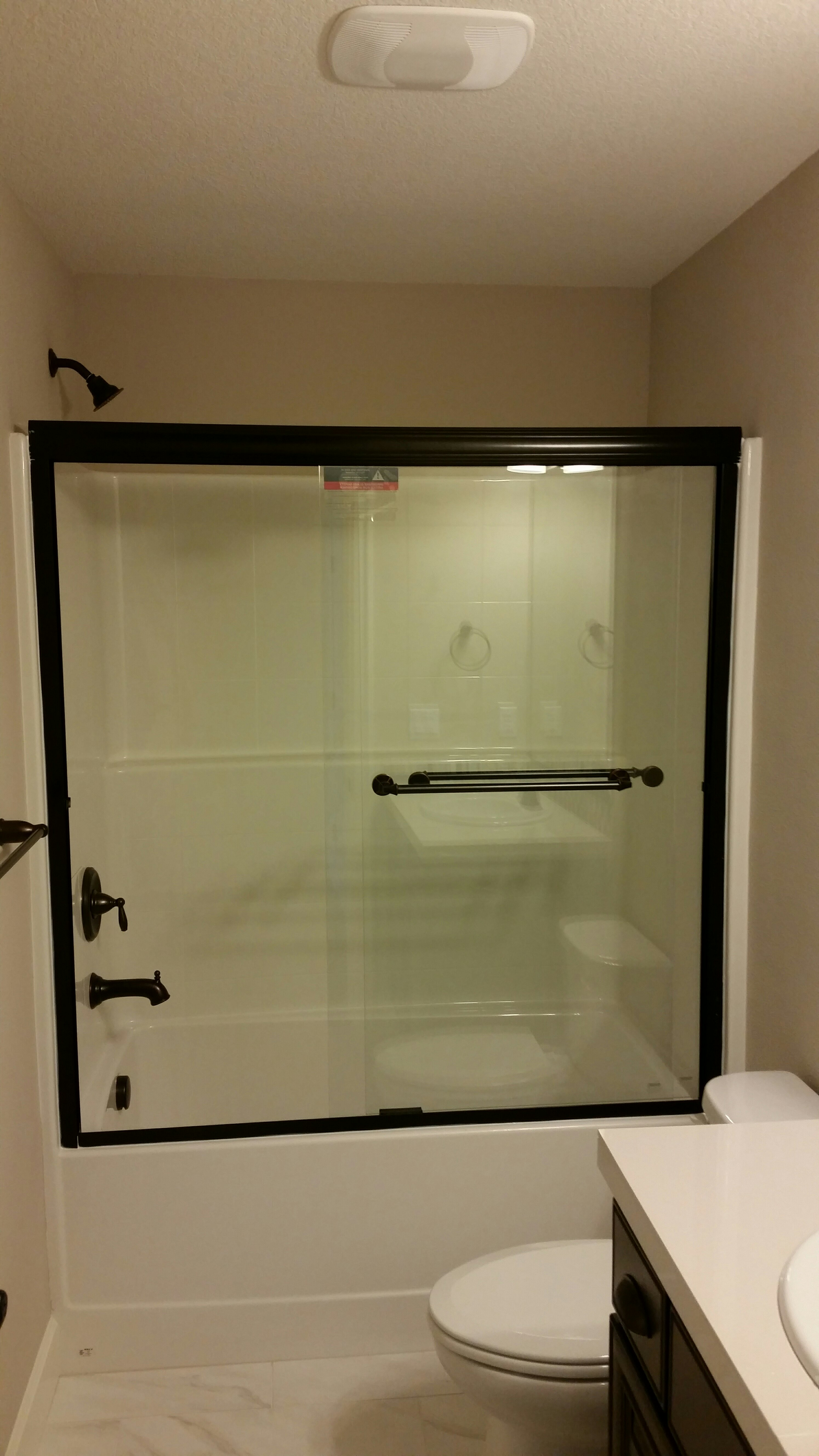 Over Tub Shower Door Installation Services Hedgehog Home
